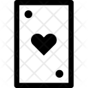Card Heart Play Icon