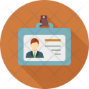 Card Identification Employee Icon