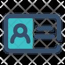 Card Identity Personal Icon