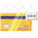 Credit Card Debit Card Password Icon