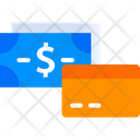 Card Or Cash Payment Icon