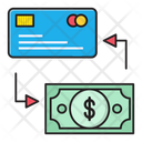 Pay Transfer Credit Icon