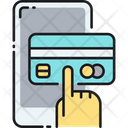 Mpay With Credit Card Icon