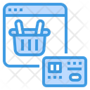 Online Payment Online Shopping Smartphone Icon