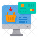 Online Payment Pc Computer Icon