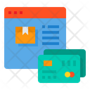 Online Payment Browser Credit Card Icon