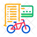 Card Payment Bicycle Icon