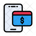 Pay Online Mobile Icon