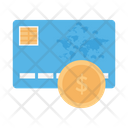 Payment Card Dollar Icon