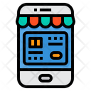 Online Shop Payment Credit Card Icon