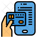 Credit Card Payment Method Mobile Icon