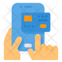 Mobile Payment Credit Card Debit Card Icon