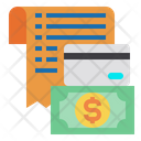 Money Currency Credit Card Icon