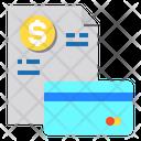 Bill Invoice Card Icon