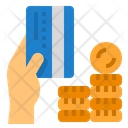 Card Payment Credit Card Hand Icon