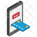 Card Payment Instant Banking 24 Hour Banking Icon