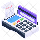 Invoice Machine Pos Cash Till Icon