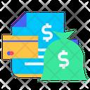 Salary Money Business Icon