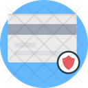 Card Security Atm Card Shield Icon