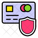 Card Security Secure Transaction Safe Banking Icon