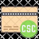 Card Security Code Cvv Credit Card Icon