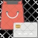 Online Shopping Card Shopping Internet Buying Icon