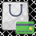 Card Shopping Credit Shopping Debit Shopping Online Shopping Icon
