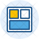 Card Stack Layout Web Layout Icon