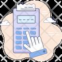 Banking Terminal Paying Icon