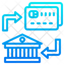 Card To Bank Transfer Bank Transfer Icon