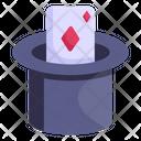 Card Magic Card Trick Poker Magic Icon