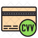 Card Verification Cvv Credit Card Icon