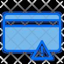 Card Warning Card Alert Card Icon