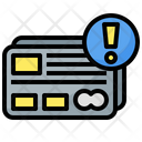 Card Warning Icon