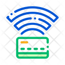 Card wireless connection Icon