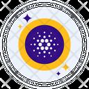 Cardano Coin Altcoin Icon