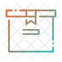 Cardboard Delivery Box Pack Icon