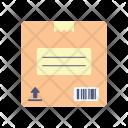 Cardboard Box Packaging Icon