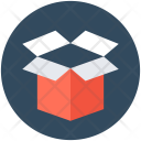 Cardboard Box Package Icon