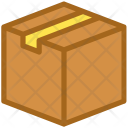 Cardboard Box Cargo Icon