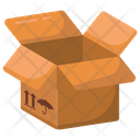 Package Parcel Cardboard Box Icon