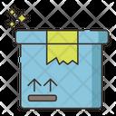 Cardboard Box Box Parcel Icon