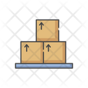Cardboard Cargo Deliver Icon