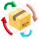 Cardboard Delivery Delivery Box Delivery Service Icon