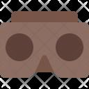 Cardboard Video Glass Icon