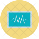Cardiac Frequency Ekg Icon