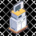 Ekg Machine Ecg Machine Electrocardiogram Icon
