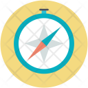 Cardinal Points Compass Icon