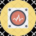 Cardio Electrocardiogram Device Icon