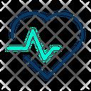 Heart Cardiogram Electrocardiogram Icon